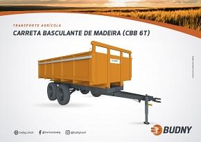 CARRETA BASCULANTE DE MADEIRA  BUDNY (CBB 6T)